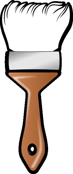 wide brush white clip art at clker com vector clip art online
