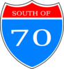 South Of 70 Logo 1 Clip Art