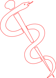 Rod Of Asclepius Clip Art