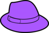 Purple Hat Clip Art