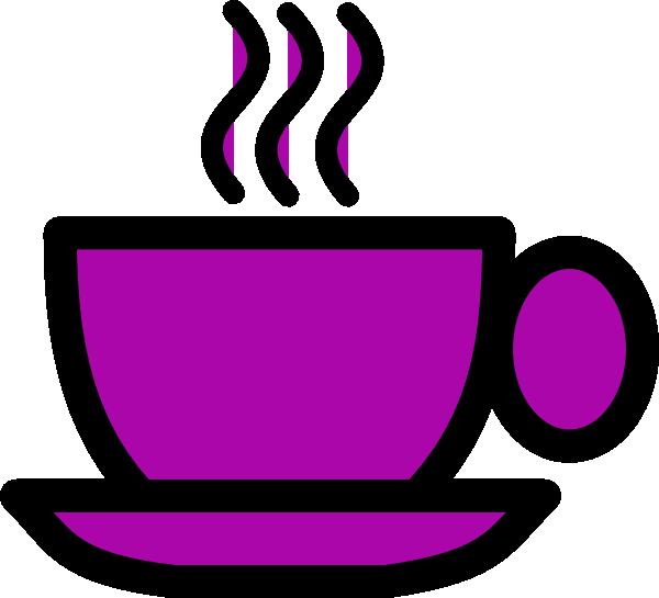 purple tea cup clip art at clker com vector clip art online rh clker com tea cup clip art free images clipart a cup of tea