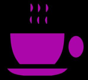 purple tea cup clip art at clker com vector clip art online rh clker com tea cup clip art black and white tea cup clip art free images