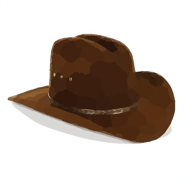 Cowboy Hat Clip Art at Clker.com - vector clip art online ...