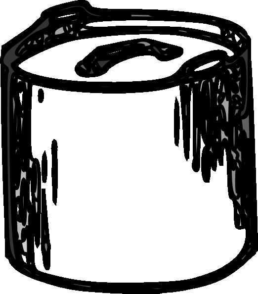 Pot Black And White Clip Art At Clker Com Vector Clip