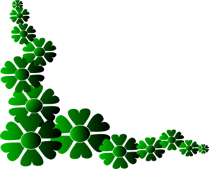 Green Flower Eiyma Clip Art