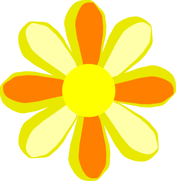 Summer Flower Clip Art at Clker.com - vector clip art ...