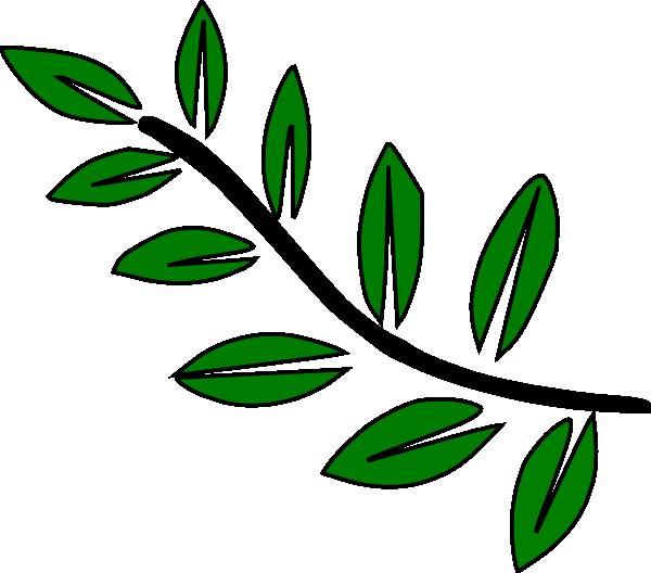 Plant Stem Clipart 10 leaf stem clip art - vector