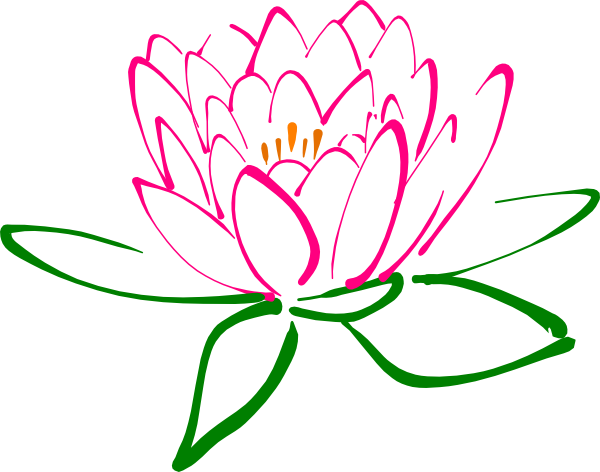 pink lotus clip art at clker com vector clip art online royalty rh clker com lotus clipart black and white lotus clipart free