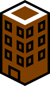 Brown Building Clip Art