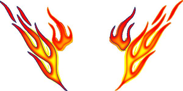 fire rock dina roll clip art at clker com vector clip art rh clker com fire clipart border Flame Border