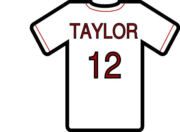 baseball jersey clip art at clker com vector clip art online rh clker com printable baseball jersey clipart baseball jersey clip art images