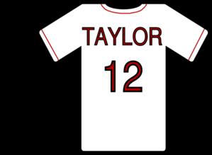 baseball jersey clip art at clker com vector clip art online rh clker com Baseball Jersey Outline Baseball Jersey Outline