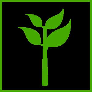 Green Plant Icon Clip Art at Clker.com - vector clip art online ...