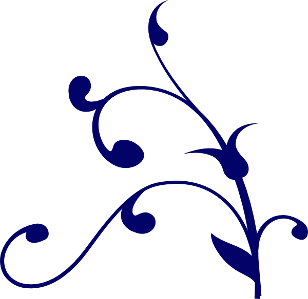 Blueflower thing clip art at vector clip art for The thing free online