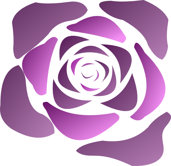 Rose Clip Art at Clker.com - vector clip art online ...