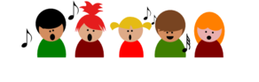 Children Choir3 Clip Art