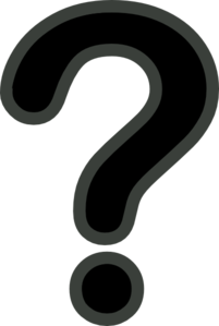 Black And Grey Question Mark Clip ArtQuestion Mark Clip Art Black And White Png