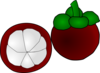 Mangosteen Thai Fruit Clip Art