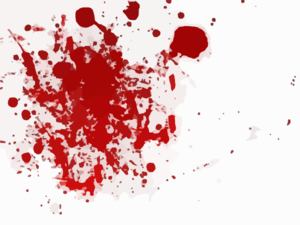 Blood Scarlet Red Splash Clip Art