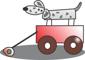 Toy Wagon Clip Art