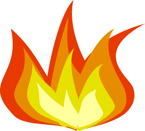 clipart flames of fire - photo #7