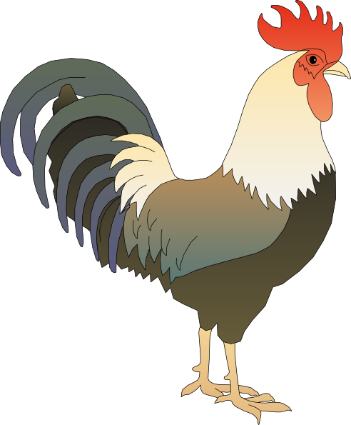 free clip art rooster - photo #4