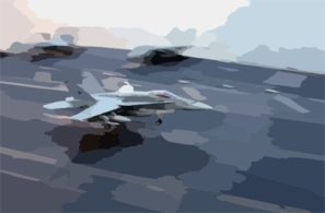 F/a-18 Returns From An Enduring Freedom Mission Clip Art