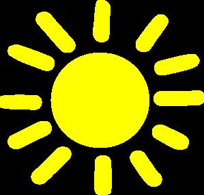 Yellow Sunshine Clip Art at Clker.com - vector clip art online ...