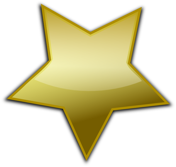 gold star clip art at clker com vector clip art online royalty rh clker com Tiny Star No Background EPS Tiny Star No Background EPS