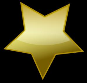 gold star clip art at clker com vector clip art online royalty rh clker com Gold Star Clip Art Cluster golden star clipart