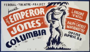 The Emperor Jones  By Eugene O Neill With Ralph Chesse S Marionettes Clip Art