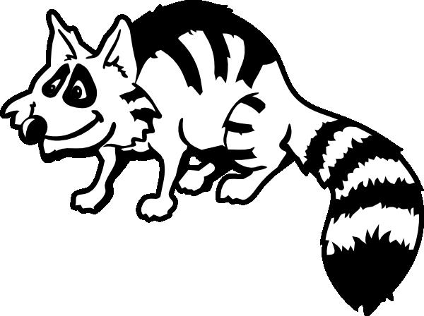 Raccoon Clip Art at Clker.com - vector clip art online ... Raccoon Face Coloring Page