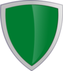 Green Security Shield Clip Art