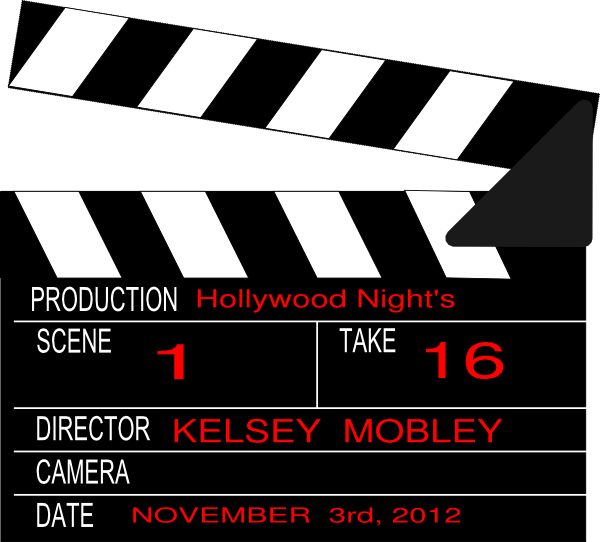Hollywood Nights Clip Art At Clker Com Vector Clip Art