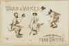 Ward & Vokes In A Brand New Frolic The Head Waiters Clip Art