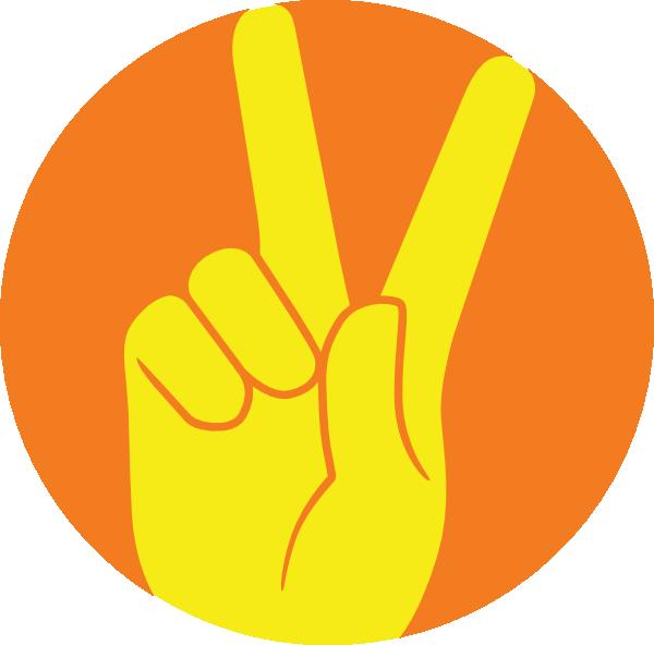 Peace Sign Clip Art at...
