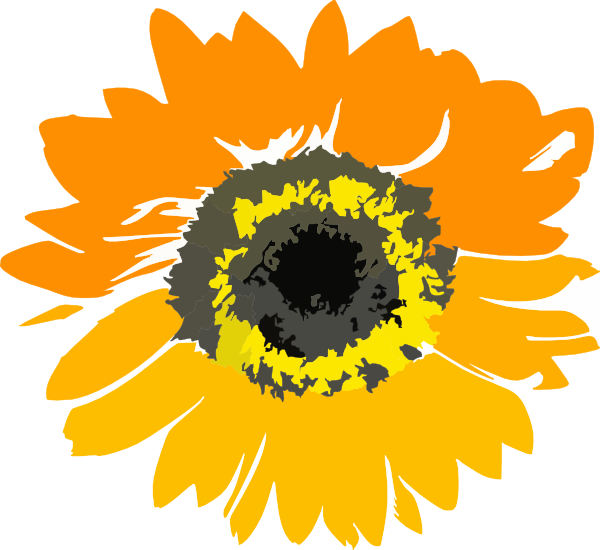 clip art borders sunflowers - photo #42