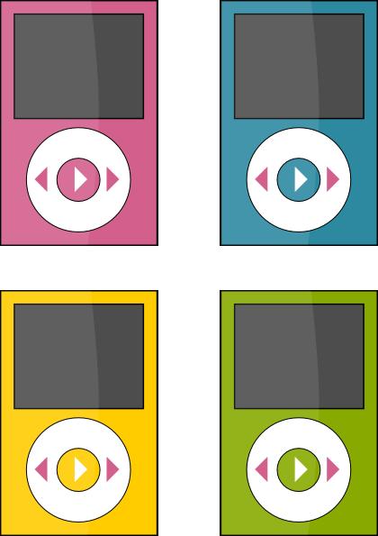 ipod 3 clip art at clkercom vector clip art online