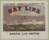 The Great Through Route Between The North And South - Bay Line - Baltimore, Norfolk & Portsmouth Clip Art