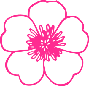 Flower clip art at clker vector clip art online royalty free flower clip art mightylinksfo Image collections