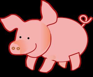 Pig Clip Art at Clkercom  vector clip art online royalty free