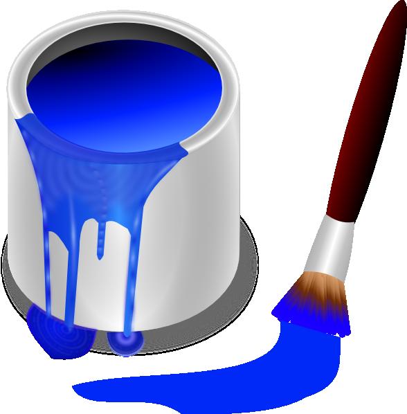 paint brush clip art free - photo #40