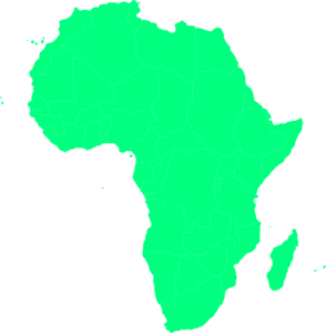 africa map clipart