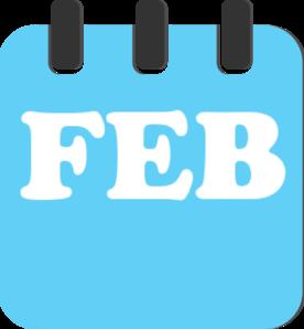 february teal clip art at clker com vector clip art online rh clker com february clip art borders february clip art free