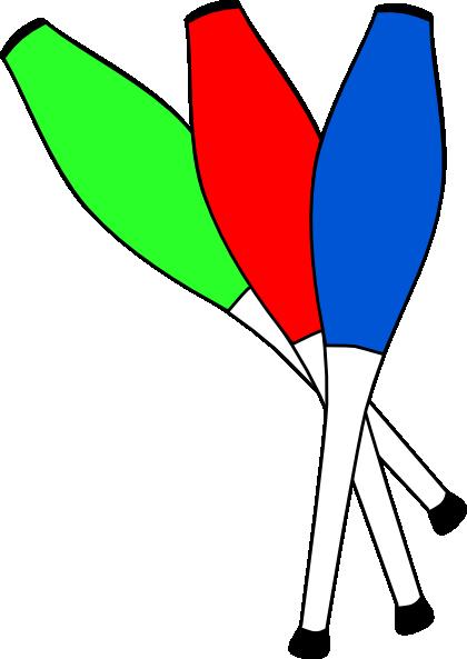 Clubs Juggling Clip Art at Clker.com - vector clip art online, royalty ...