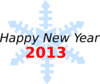 Happy New Year 2013 Clip Art