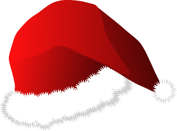 Santa hat cartoon clip art at clker com vector clip art online