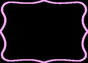 Pink Tag Frame Clip Art at Clker.com - vector clip art ...