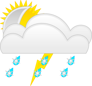 Weather Symbols Template Clip Art