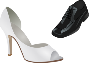 Wedding Shoes Clip Art